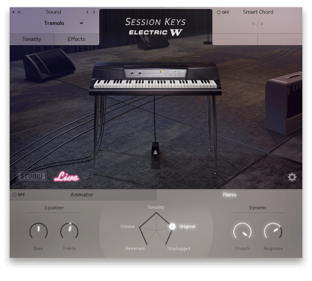 e-instruments Session Keys Electric W KONTAKT