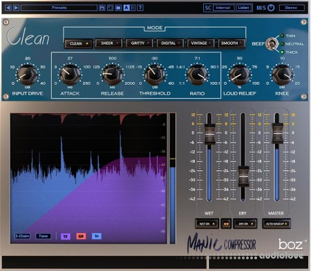 Boz Digital Labs Manic Compressor v1.1.2 / v1.1.3 WiN MacOSX