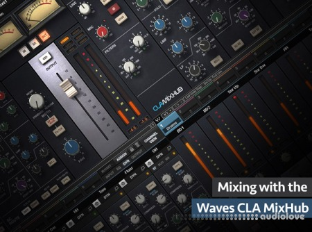 Groove3 Mixing with the Waves CLA MixHub TUTORiAL