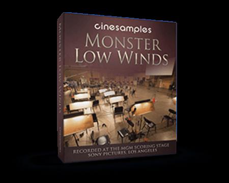 Cinesamples CineWinds Monster Low Winds KONTAKT