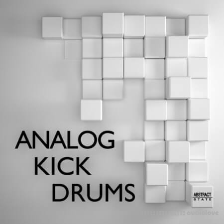 Abstract State Analog Kick Drums WAV