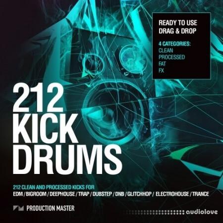 Production Master 212 Kick Drums Vol.1 WAV