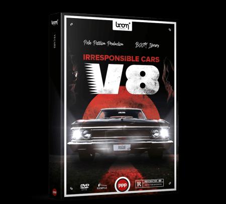 Boom Library CARS V8 WAV