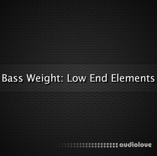 Glitchedtones Bass Weight Low End Elements