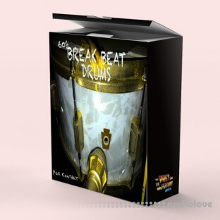 Past To Future Samples 60's Breakbeat Drums
