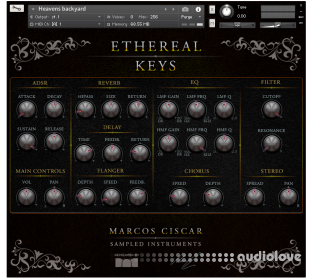 Marcos Ciscar Ethereal Keys