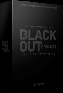 Steve Lawrence Black Out Drumkit