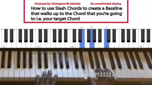 Udemy How to use Slash Chords To Create Unique Sounds and Basslines