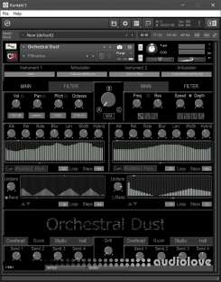 Channel Robot Orchestral Dust