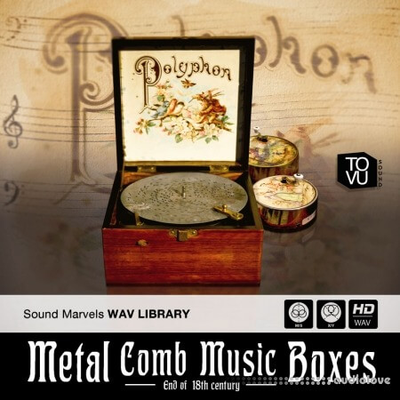 Tovusound Metal Comb Music Boxes