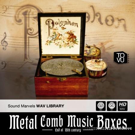 Tovusound Metal Comb Music Boxes WAV