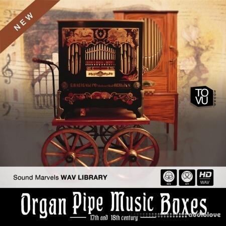 Tovusound Organ Pipe Music Boxes WAV