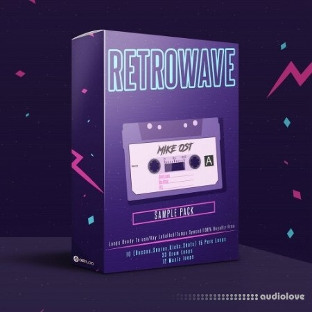 OSTAudio Retrowave Cassette Tape