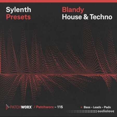 Loopmasters Patchworx 115 Blandy House and Techno WAV MiDi Synth Presets