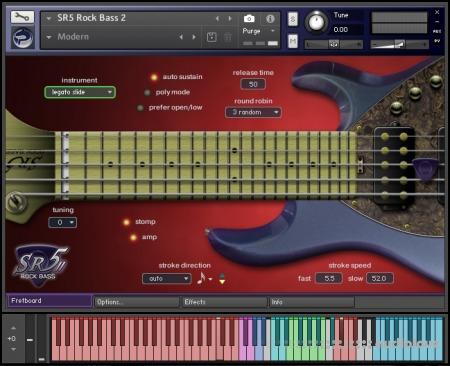 Prominy SR5 Rock Bass 2 v2.01 KONTAKT