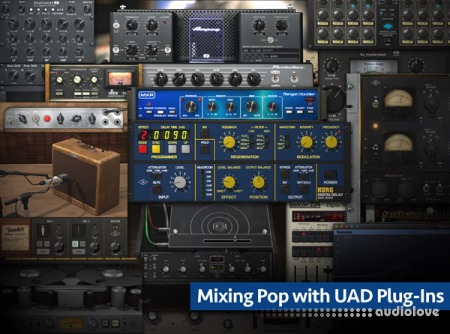 Groove3 Mixing Pop with UAD Plug-Ins TUTORiAL