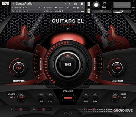 Sonex Audio Electric Guitars KONTAKT