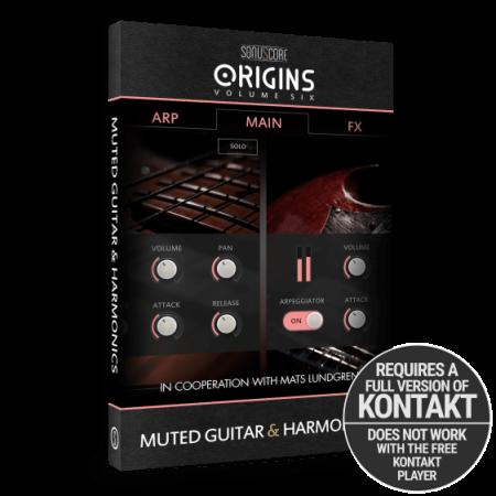 Sonuscore Origins Vol.6: Muted Guitar and Harmonics KONTAKT