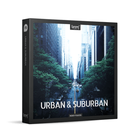 Boom Library Urban and Suburban WAV