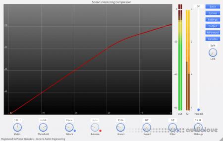 Sonoris Mastering Compressor v1.0.2.1 WiN MacOSX