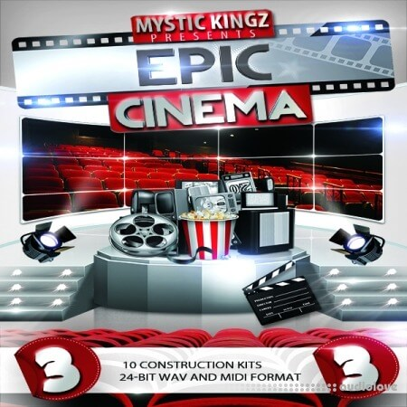Mystic Kingz Epic Cinema 3 WAV MiDi