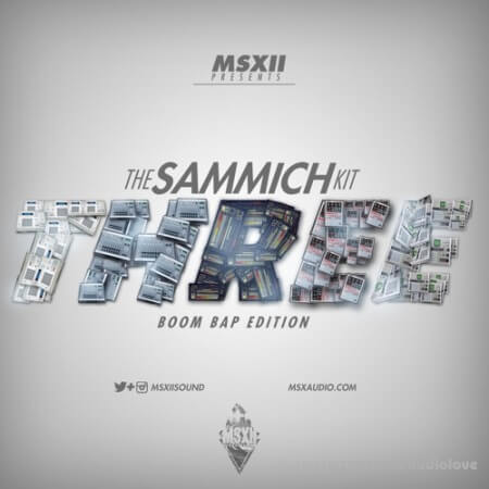 MSXII The Sammich Kit 3 DrumBroker WAV