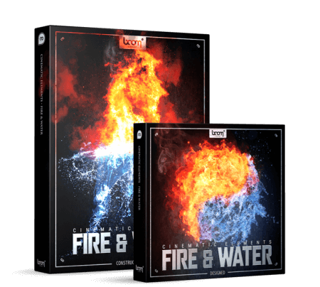 Boom Library Cinematic Elements Fire and Water Bundle WAV
