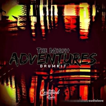 Certified Audio LLC The Misfit Adventures Drumkit WAV