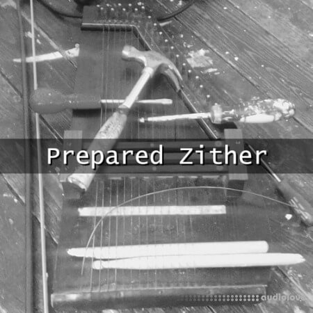 Glitchedtones Prepared Zither WAV
