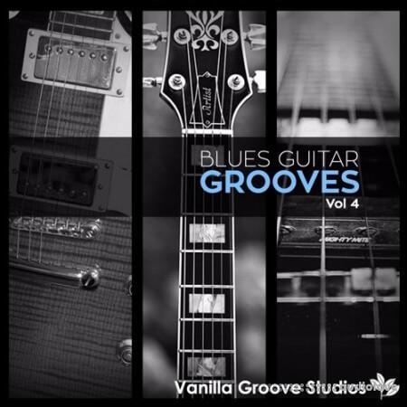 Vanilla Groove Studios Blues Guitar Grooves Vol.4 WAV