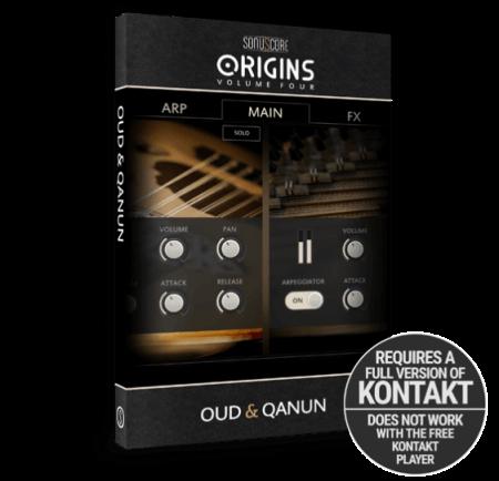 Sonuscore Origins Vol.4: Oud and Qanun KONTAKT