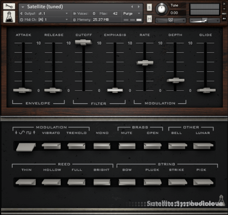 AudioThing Satellite KONTAKT