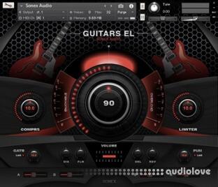 Sonex Audio Electric Guitars