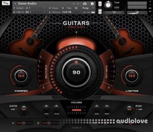 Sonex Audio Acoustic Guitars