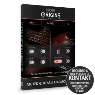 Sonuscore Origins Vol.6: Muted Guitar and Harmonics