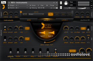 Output Sounds REV