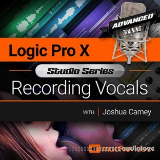 MacProVideo Logic Pro X 502 Studio Series Recording Vocals