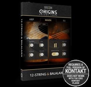 Sonuscore Origins Vol.3: 12-String and Balalaika