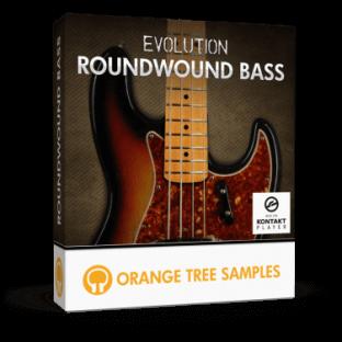 Orange Tree Samples Evolution Roundwound Bass