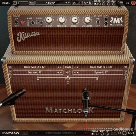 Kuassa Amplification Matchlock v1.0.0 WiN MacOSX