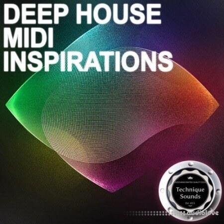 Technique Sounds Deep House Midi Inspirations WAV MiDi