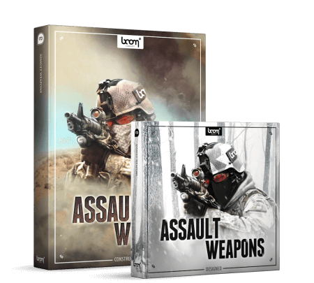 Boom Library Assault Weapons Bundle WAV