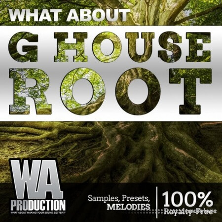 WA Production G House Root WAV MiDi Synth Presets DAW Templates