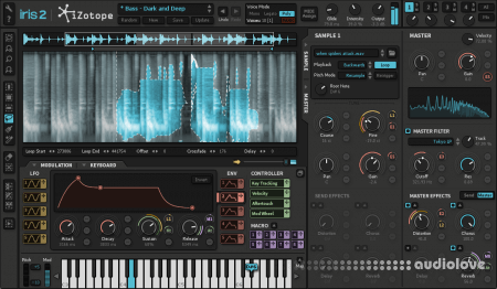 iZotope Iris 2 Factory Sound Library v1.00 WiN MacOSX