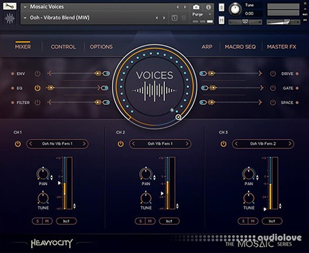 Heavyocity Mosaic Voices free download - AudioLove