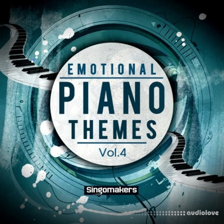 Singomakers Emotional Piano Themes Vol.4 WAV MiDi