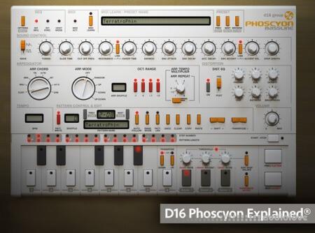 Groove3 D16 Phoscyon Explained TUTORiAL