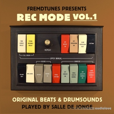 The Drum Broker Rec Mode Vol.1 WAV