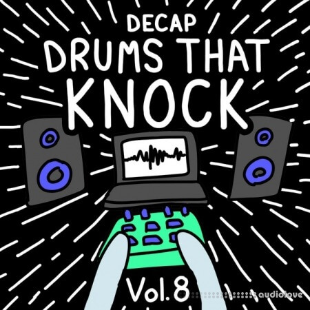 Decap Drums That Knock Vol.8 WAV MiDi