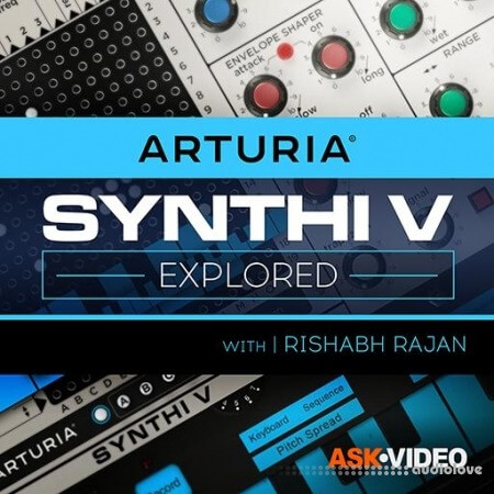 Ask Video Arturia V 105 Synthi V Explored TUTORiAL